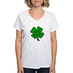 Irish Nurse Women's V-Neck T-Shirt