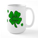 Irish Nurse Large Mug