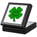 Irish Nurse Keepsake Box