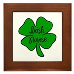 Irish Nurse Framed Tile
