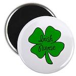 "Irish Nurse 2.25"" Magnet (100 pack)"