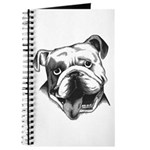 English Bulldog Smiling Journal