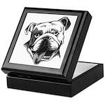 English Bulldog Smiling Keepsake Box
