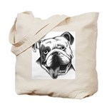 English Bulldog Smiling Tote Bag