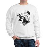 English Bulldog Smiling Sweatshirt