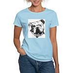 English Bulldog Smiling Women's Light T-Shirt