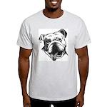 English Bulldog Smiling Light T-Shirt