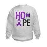 Alzheimer's Disease Hope Kids Sweatshirt