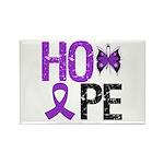 Alzheimer's Disease Hope Rectangle Magnet