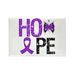 Alzheimer's Disease Hope Rectangle Magnet (10 pack