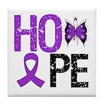 Alzheimer's Disease Hope Tile Coaster