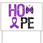 Alzheimer's Disease Hope Yard Sign