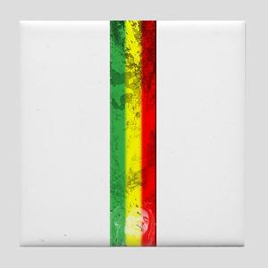 Marley flag Tile Coaster