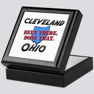 cleveland ohio - been there, done that Keepsake Bo