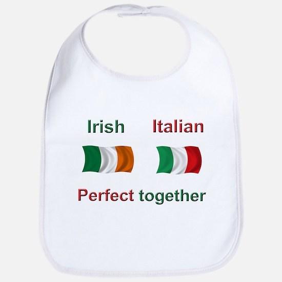 Irish Italian Together Bib