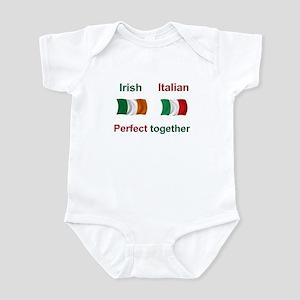 Irish Italian Together Infant Bodysuit