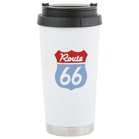 Route 66 -Diner Stainless Steel Travel Mug