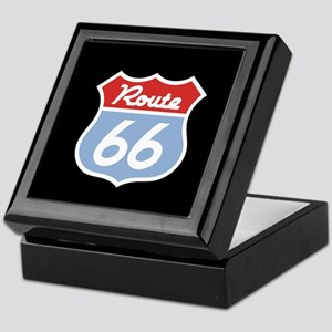 Route 66 -Diner Keepsake Box