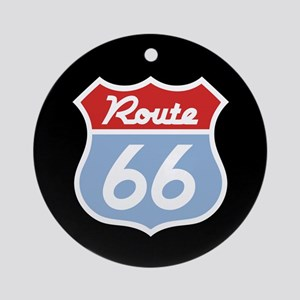Route 66 -Diner Ornament (Round)