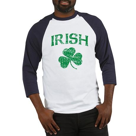 Irish Shamrock Baseball Jersey