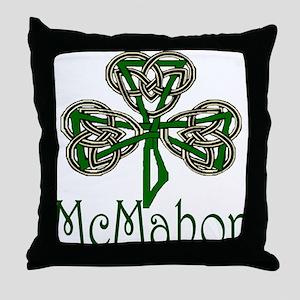 McMahon Shamrock Throw Pillow