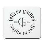 Jeffrey Gaines Mousepad
