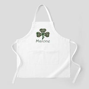 Malone Shamrock BBQ Apron