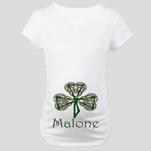 Malone Shamrock Maternity T-Shirt