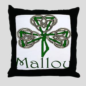 Malloy Shamrock Throw Pillow