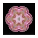 Rhododendron Cunninghams White I Tile Coaster