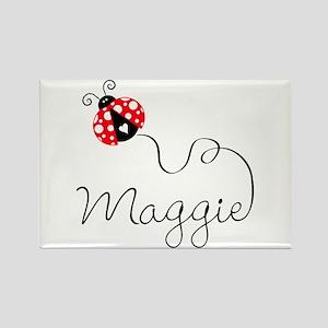 Ladybug Maggie Rectangle Magnet