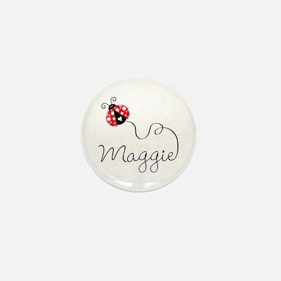 Ladybug Maggie Mini Button