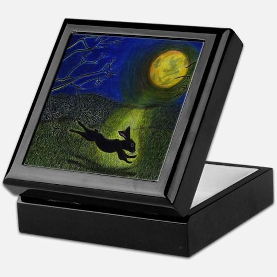 """In Moonlight"" (plain) Keepsake Box"