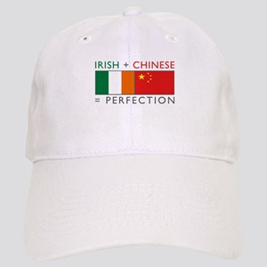 Irish Chinese heritage flag Cap