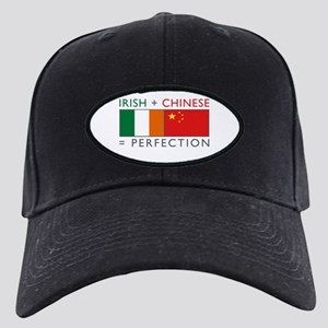 Irish Chinese heritage flag Black Cap