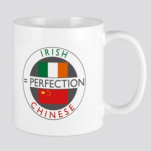 Irish Chinese heritage flag Mug