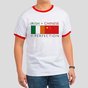 Irish Chinese heritage flag Ringer T