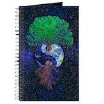 Yin Yang Space Earth Tree of Life Journal