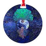 Yin Yang Tree of Life Ornament