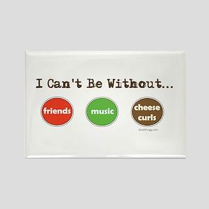 Friends Music Cheese Curls Refrigerator Magnet