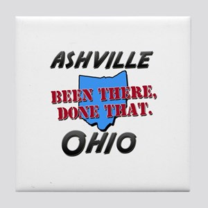 ashville ohio - been there, done that Tile Coaster