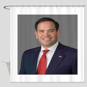 Marco Rubio Shower Curtain
