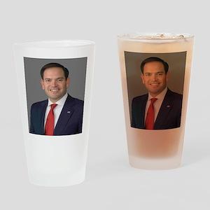 Marco Rubio Drinking Glass