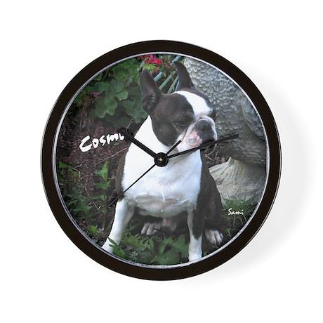 Cosmo in Garden Wall Clock