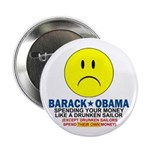 "Obama Spending 2.25"" Button"