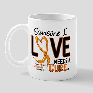 Needs A Cure 2 LEUKEMIA Mug