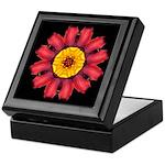 Red and Yellow Daylily I Keepsake Box