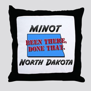 minot north dakota - been there, done that Throw P