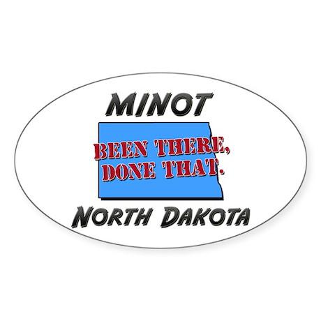 minot north dakota - been there, done that Sticker