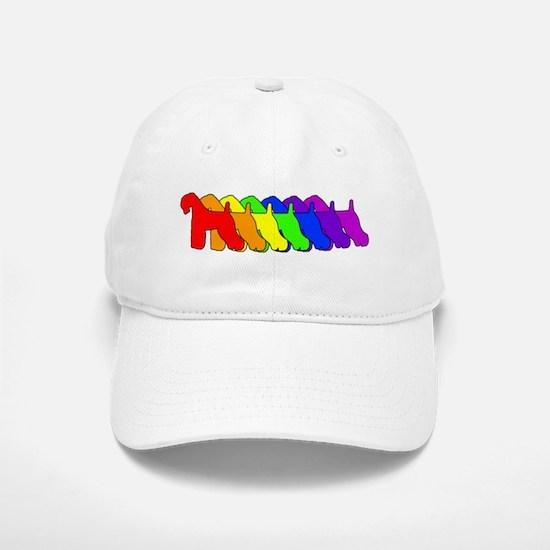 Rainbow Kerry Blue Cap